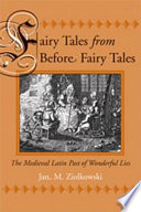 Fairy Tales from Before Fairy Tales Book
