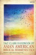 T&T Clark Handbook of Asian American Biblical Hermeneutics Pdf/ePub eBook