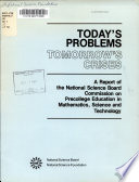 Today's Problems, Tomorrow's Crises