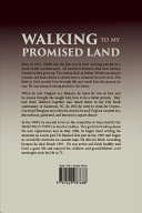 Walking to My Promised Land Book