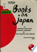 Books on Japan in Western Languages Recently Acquired by the National Diet Library