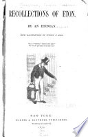 Recollections of Eton