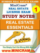 MiniCram Humber Real Estate Exam Course 1