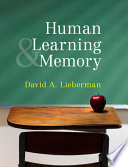 """Learning and Memory"" by David A. Lieberman"
