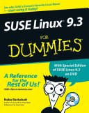 SUSE Linux 9 3 For Dummies