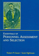 Essentials of Personnel Assessment and Selection Book