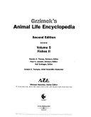 Grzimek S Animal Life Encyclopedia Fishes I Ii
