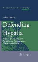 Defending Hypatia