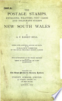 The Postage Stamps, Envelopes, Wrappers, Post Cards, and Telegraph Stamps of New South Wales
