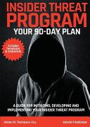 Insider Threat Program Book PDF