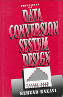 Principles Of Data Conversion System Design Book PDF