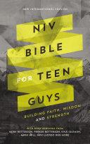 Pdf NIV, Bible for Teen Guys, Ebook Telecharger
