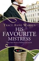 His Favourite Mistress A Rouge Regency Romance