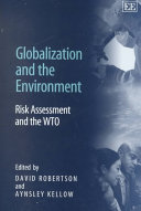 Globalization and the Environment Book