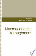 Macroeconomic Management