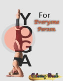 Yoga For Everyone Person Coloring Book