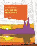 Anti Stress Color by Numbers Book