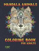 Mandala Animals Coloring Book For Adults