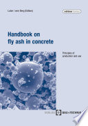 Handbook on fly ash in concrete