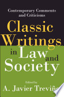 Classic Writings Law and Society