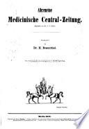 Allgemeine medizinische Zentral-Zeitung0