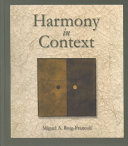 Harmony In Context Book