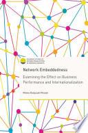 Network Embeddedness Book PDF