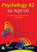 Cover of Psychology A2 for Aqa a