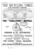 The Bicycling times and tourist's gazette