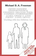 Children  Their Families and the Law