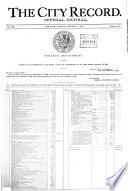 The City Record