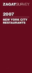 New York City Restaurants 2008