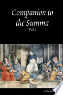 Companion To The Summa Theologica The Pursuit Of Happiness Corresponding To The Summa Theologica Ia Iiae  Book