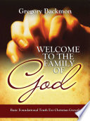 Welcome To The Family Of God