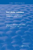 Salt Water Intrusion Pdf/ePub eBook