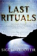 Last Rituals