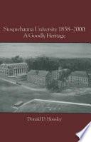 Susquehanna University  1858 2000