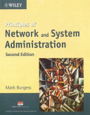 PRINCIPLES OF NETWORK & SYSTEM ADMIN. 2nd Ed.