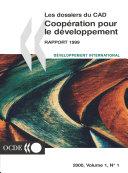 Coopération pour le Développement : Rapport 1999 Efforts et politiques des Membres du Comité d'aide au développement Pdf/ePub eBook