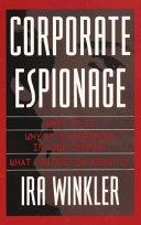Corporate Espionage