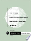 The International Geophysical Year Meetings