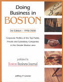 Doing Business in Boston