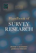 Handbook of Survey Research