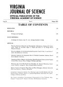 The Virginia Journal of Science