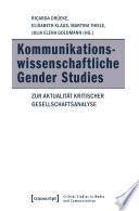 Kommunikationswissenschaftliche Gender Studies