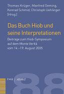 Das Buch Hiob und seine Interpretationen