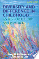 EBOOK  Diversity and Difference in Childhood  Issues for Theory and Practice