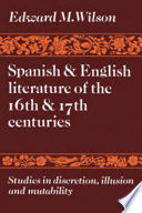Spanish and English Literature of the 16th and 17th Centuries Book
