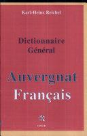 Pdf Grand dictionnaire général auvergnat-français Telecharger