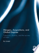 Mergers  Acquisitions and Global Empires Book